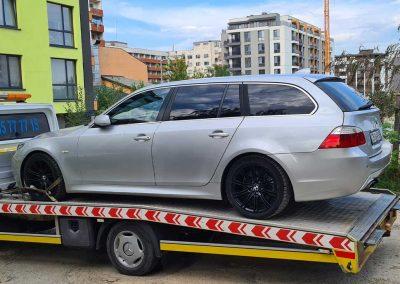 пътна-помощ-репатриране-автомобил-bmw-525