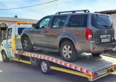 пътна-помощ-репатриране-nissan-pathfinder